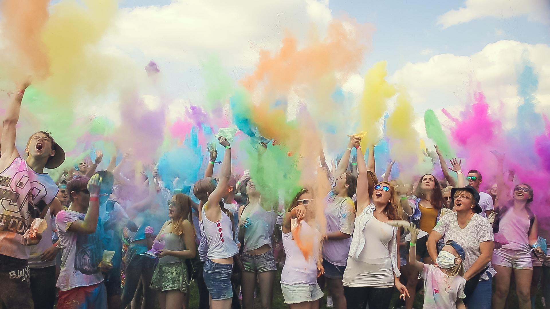 Holi Colour Festival Silbersee – 08.08.2015