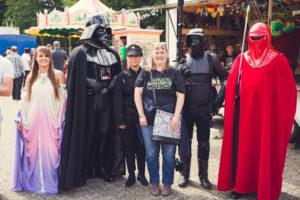 Kirmes Treysa – Star Wars Act & Feuerwehrübung – 13.08.2017