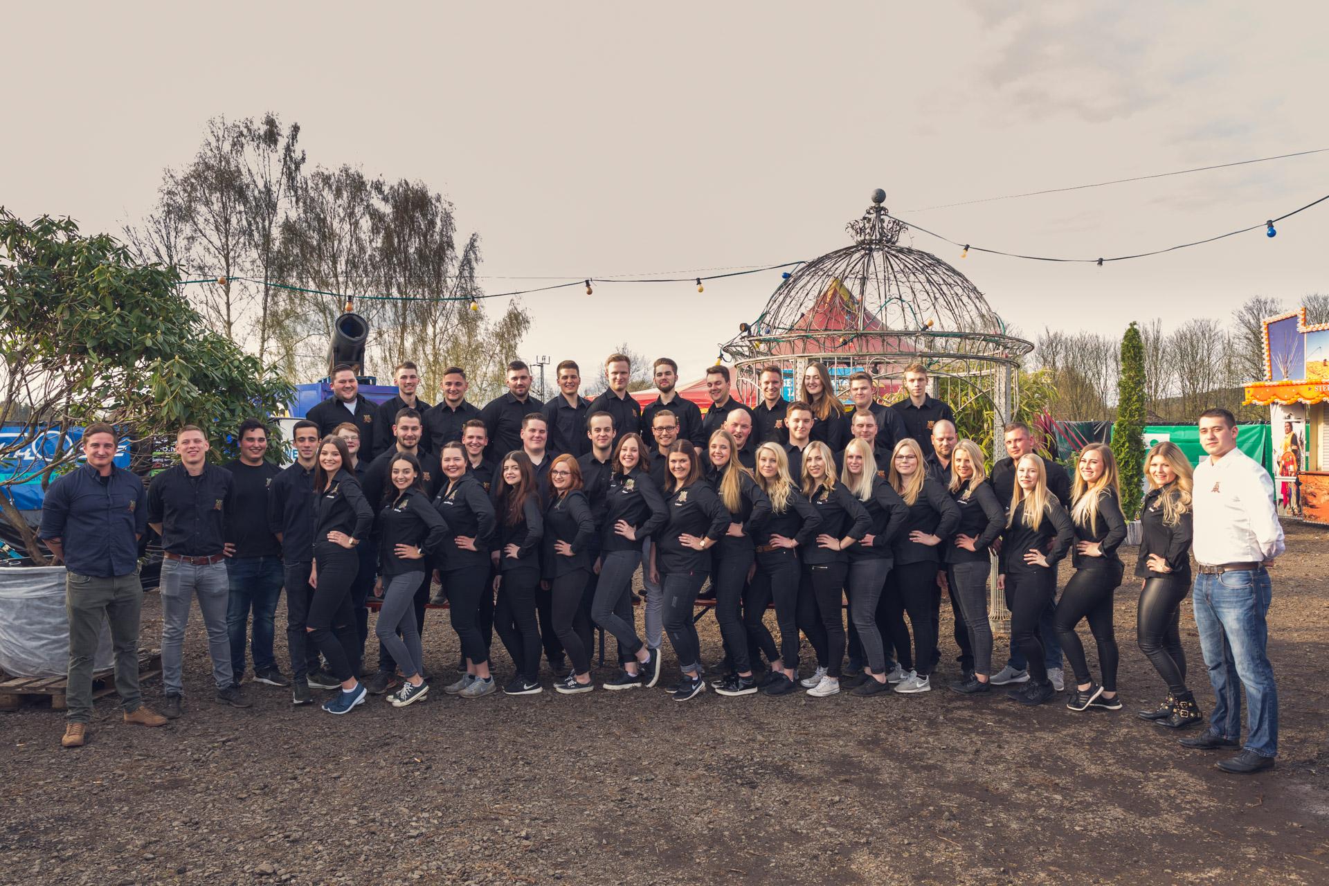 Gruppenfoto und Making-Of Video der Schwälmer Burschen – 14.04.2018