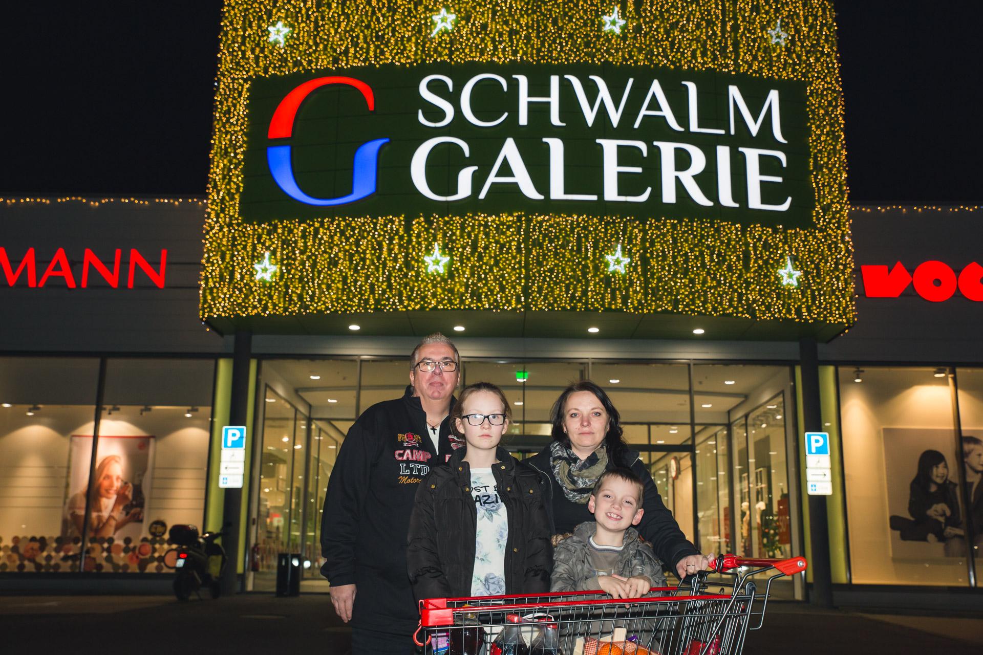 Weihnachtsspendenaktion von Mutters Imbiss & den Schwalmstadt Warriors – Dezember 2017